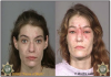 Figure 5 Before and After: 11 months – Photos courtesy of Sheriff's Department, Multnomah County, Oregon. United States Department of Justice Meth Awareness Program