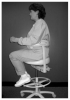 Fig. 5 Side view of neutral sitting posture.